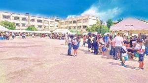 本一色小学校 PTA祭に参加しました!