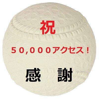 おかげさまで50,000アクセス達成!!