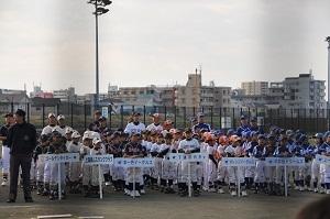 オレンジボール江戸川大会 開会式&一回戦結果アップしました!